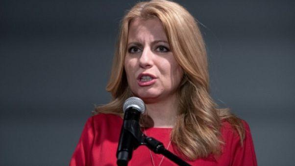 Zuzana Caputova, avocate favorite à la présidentielle slovaque