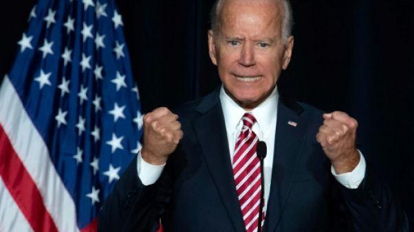 Joe Biden huile son discours de possible candidat à la Maison Blanche