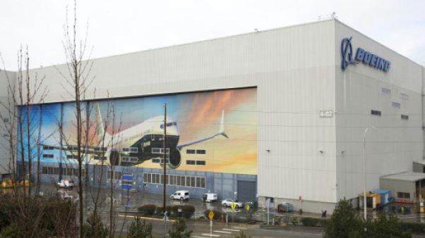 L'usine de Boeing à Renton, le 12 mars 2019 dans l'Etat de Washington