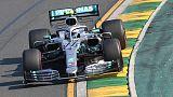بوتاس سائق مرسيدس يفوز بالسباق الافتتاحي لموسم فورمولا 1 في استراليا