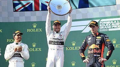 Bottas wins Australian Grand Prix for Mercedes