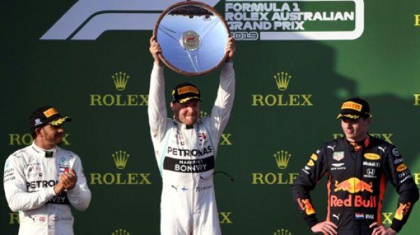 GP d'Australie: Bottas (Mercedes) premier vainqueur de la saison de F1