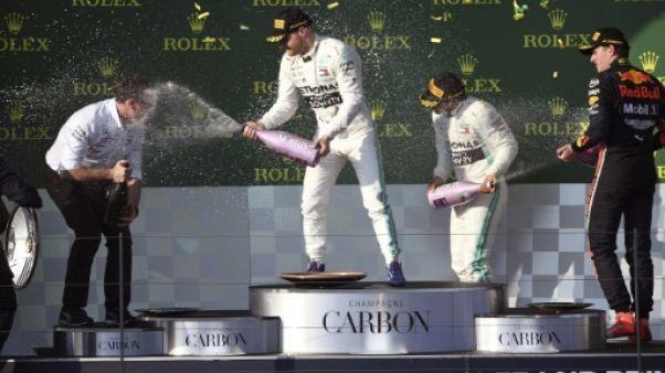 """GP d'Australie: Mercedes """"très surprise"""" de surclasser Ferrari"""