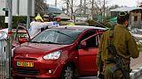 Attaque en Cisjordanie: un Israélien tué et deux autres blessés