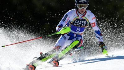 Ski alpin: Clément Noël écrase la 1re manche du slalom de Soldeu