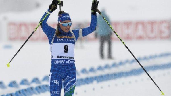 Mondiaux de biathlon: Wierer sacrée sur la mass start
