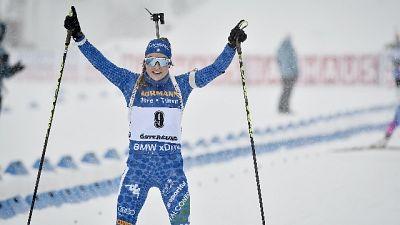 Biathlon: Wierer oro mondiale mass start