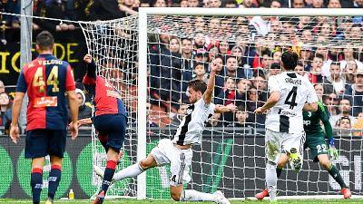Juve prima sconfitta in campionato