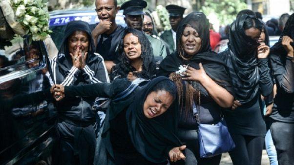 Des proches des victimes du crash le 17 mars 2019 à Addis Abeba