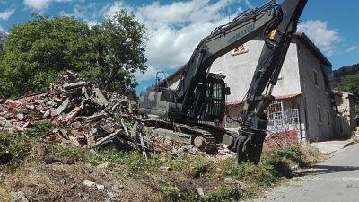Terremoto:indagini su amianto in macerie