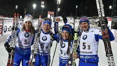 Biathlon: anche Windish oro mondiale