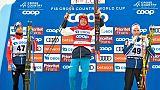 Ski de fond: victoire de Bolshunov qui revient au général