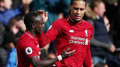 Mane scores again as Liverpool beat Fulham to go top