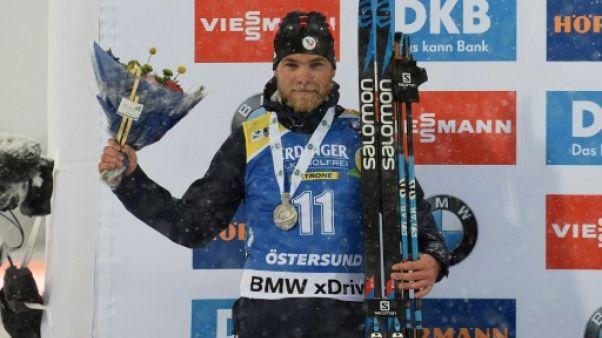 Mondiaux de biathlon: Guigonnat en argent sur la mass start, victoire de l'Italien Windisch