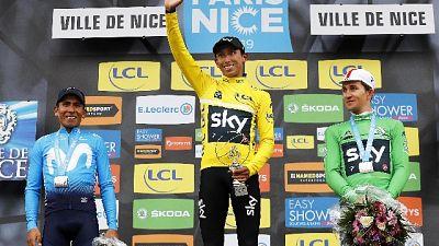 Ciclismo: Bernal vince la Parigi-Nizza