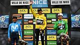 "Paris-Nice: Bernal, le futur ""grand"", s'impose à son aîné Quintana"