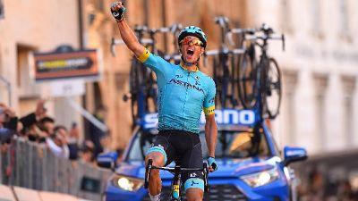 Ciclismo: Tirreno, tappa a Fuglsang