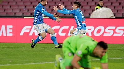 Injury scare for Ospina as Napoli beat Udinese