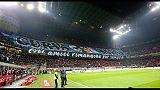Show curve, Inter ricorda tifoso morto