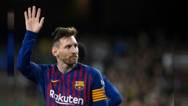 Espagne: Messi frappe trois fois le Betis 4-1, le Barça s'envole