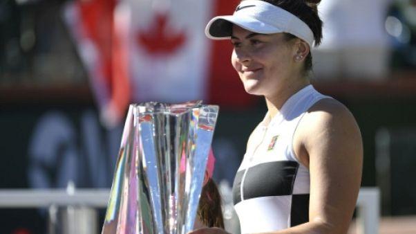 La sensation Bianca Andreescu sacrée à Indian Wells, le 17 mars 2019