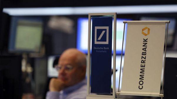 Deutsche Bank merger talks with Commerzbank raise job fears, lift shares