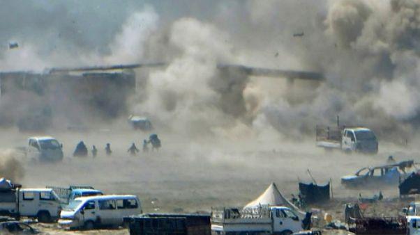 Syrie: les forces antijihadistes resserrent l'étau sur l'ultime réduit de l'EI
