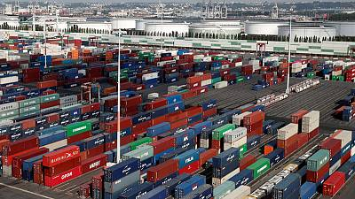 EU trade surplus with U.S. expands, deficit with China grows