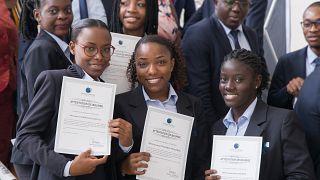 La Fondation BGFIBank offre des bourses aux étudiants de BBS au Gabon, pour la 5ème année consécutive!