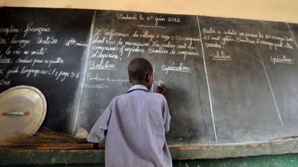 Dans une école à Zinder, au Niger, le 1er juin 2012