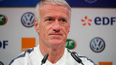 Deschamps takes cautious approach to Euro 2020 qualifiers