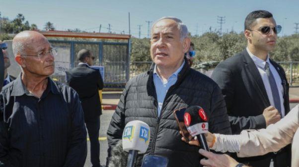 Israël: une attaque palestinienne surgit au coeur de la campagne électorale