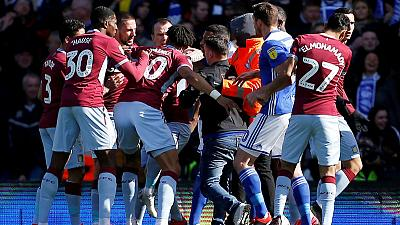Birmingham and Villa fined for failing to control players