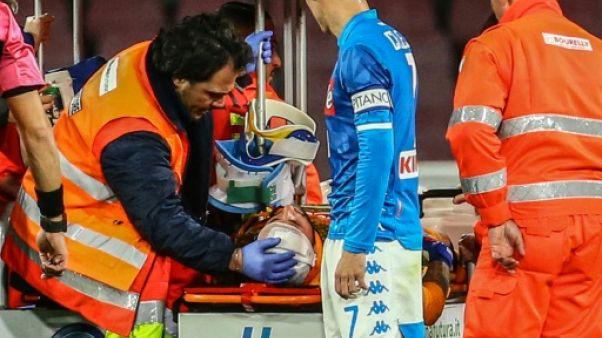 Naples: le gardien David Ospina est sorti de l'hôpital