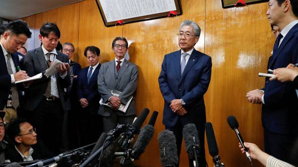 Japan committee chief Takeda to step down