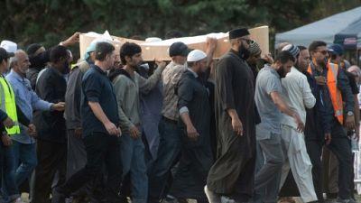 Attentat de Christchurch: inhumation des premières victimes du carnage des mosquées