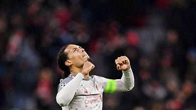 Liverpool's Van Dijk backs Salah to rediscover scoring touch