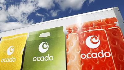 UK's Ocado sales growth held back by fire at distribution centre
