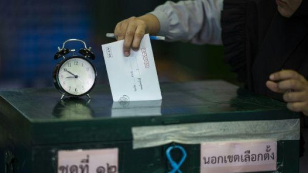 Vote anticipé à Bangkok le 17 mars 2019 avant les élections générales du 24