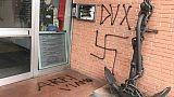 Svastica nazista in sede Anpi a Prato