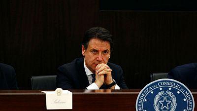 Italy PM Conte seeks to reassure EU, U.S. over China deals