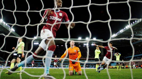 Villa's Abraham targets first-team action on return to Chelsea
