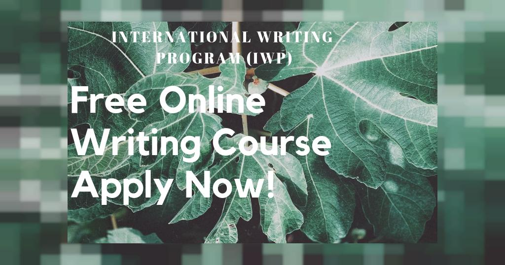 Call for Application: International Writing Program (IWP