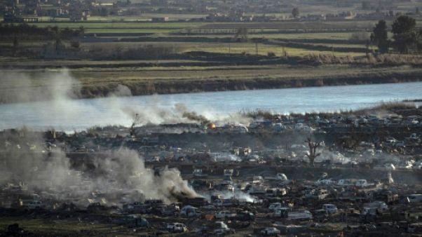 En Syrie, les derniers jihadistes de l'EI acculés au bord du fleuve Euphrate