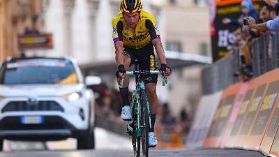 """Ciclismo: Tirreno, vince Roglic per 1"""""""