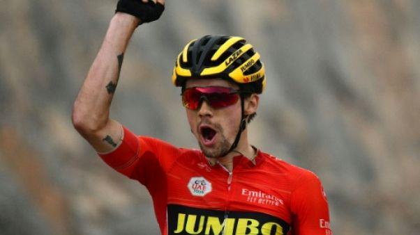 Tirreno-Adriatico: Roglic sacré d'un souffle devant Adam Yates