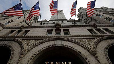 U.S. judges lean toward Trump in hotel 'emoluments' case