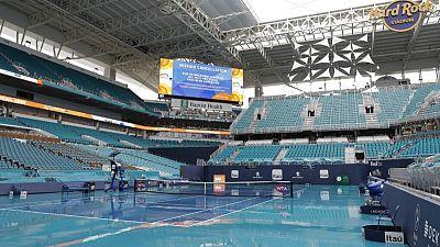 Rain delays Miami Open start at new Hard Rock home