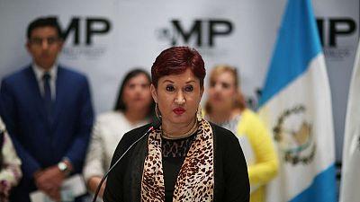 Guatemalan judge issues arrest order for ex-attorney general Aldana - official