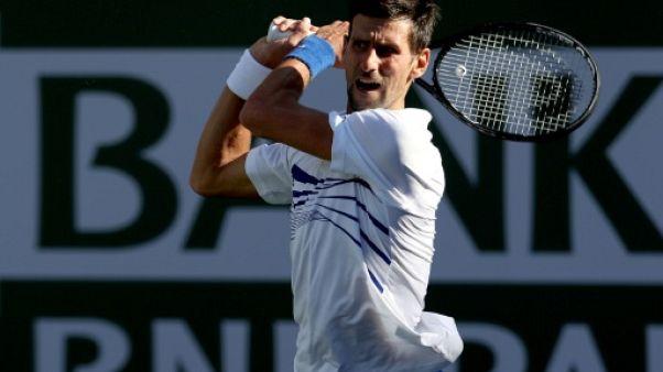 Tennis: Djokovic en quête de rachat à Miami